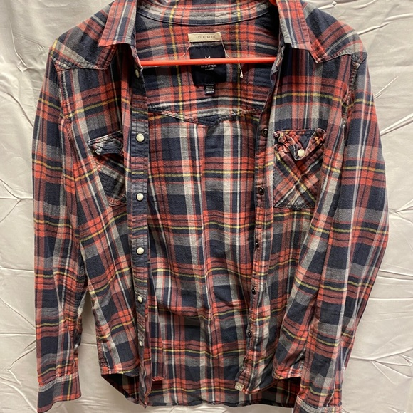 American Eagle Buttoned Flannel